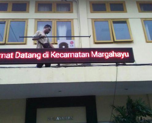 Running Text Kecamatan